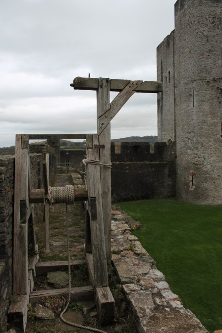 32. Caerphilly Castle, Wales