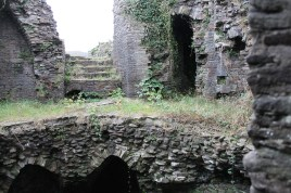 43. Caerphilly Castle, Wales