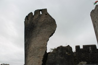 48. Caerphilly Castle, Wales