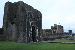 57. Caerphilly Castle, Wales