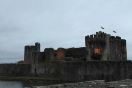 60. Caerphilly Castle, Wales