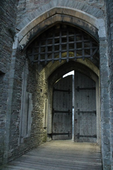 64. Caerphilly Castle, Wales