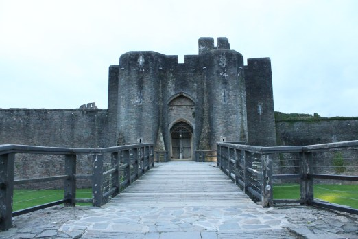 66. Caerphilly Castle, Wales