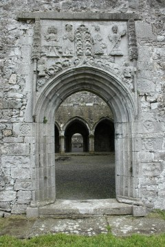 43. Clontuskert Priory, Co. Galway