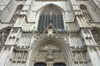 02. Cathedral of St. Michael and St. Gudula, Belgium