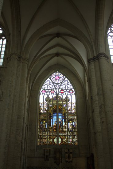 10. Cathedral of St. Michael and St. Gudula, Belgium