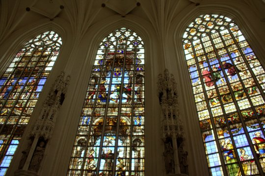 29. Cathedral of St. Michael and St. Gudula, Belgium