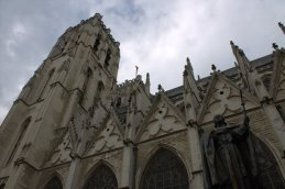 38. Cathedral of St. Michael and St. Gudula, Belgium