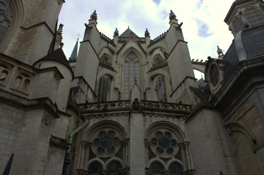 41. Cathedral of St. Michael and St. Gudula, Belgium