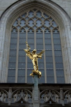 42. Cathedral of St. Michael and St. Gudula, Belgium