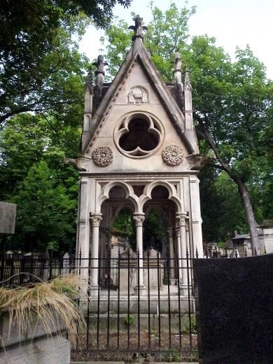 13. Pére Lachaise Cemetery, Paris, France