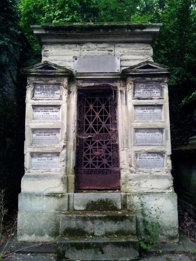 54. Pére Lachaise Cemetery, Paris, France