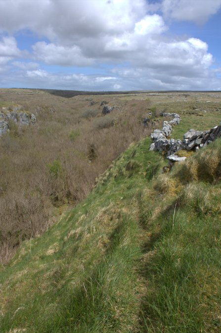 13. Cahercommaun Cliff Fort, Co. Clare