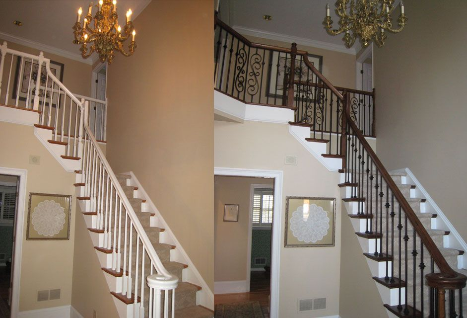 At Vision Stairways U0026 Millwork, We Proudly Serve The Stair Remodeling Needs  Of Homeowners And Builders Throughout Raleigh Durham Chapel Hill, Including  The ...