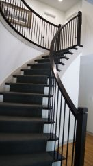 Curved Dark Staircase 4