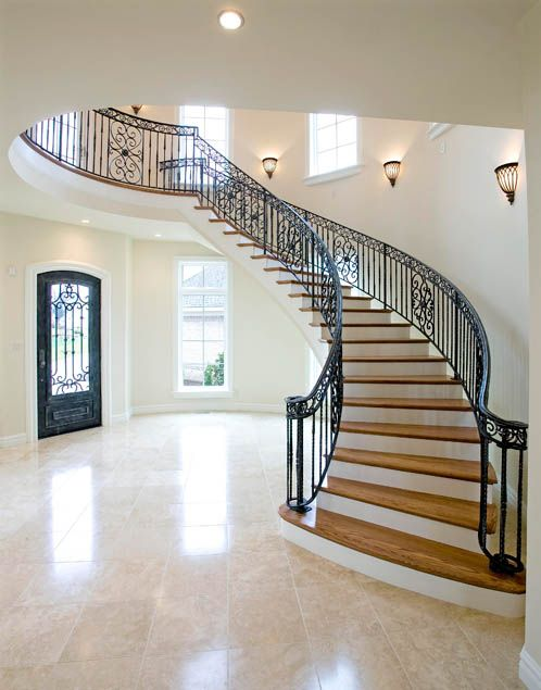 Without Question, Curved Stairways Are Some Of The Most Elegant Types Of  Stairs You Can Have In Your Home. They Are Also One Of The Most Complicated  To ...