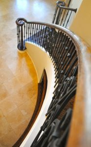 Curved Staircase Iron 9