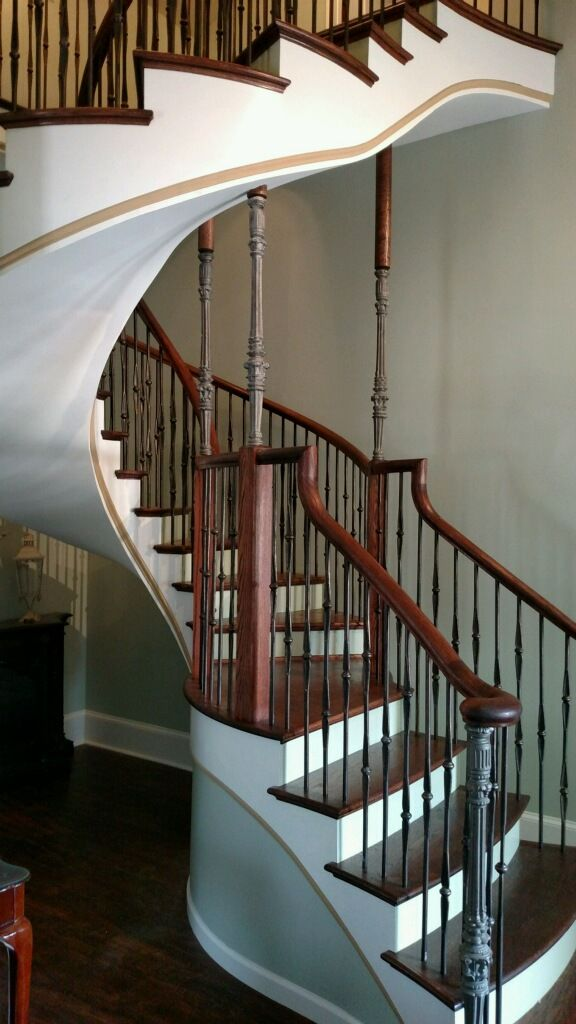 Dingler Custom Curved Staircase 3