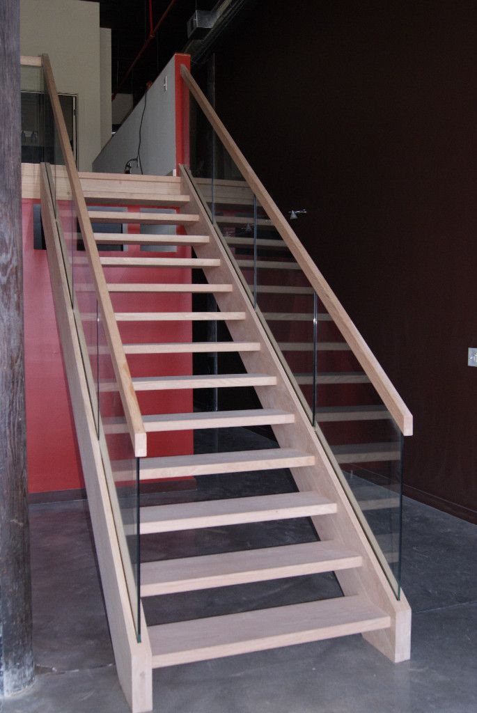 Glass Open Riser Stairs 1