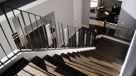 Modern Baluster Straight Staircase 1