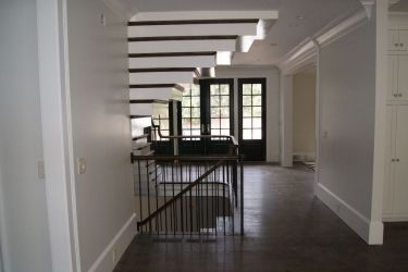 Straight Staircase Remodel Modern