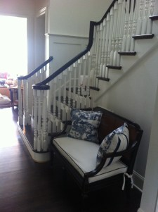 11 - Traditional L straight stair