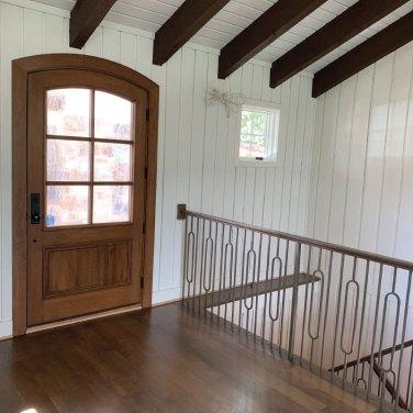 Custom-Yvette-Style-Door-with-Textured-Glass