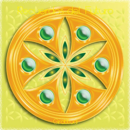 Mandalas con Mandala Recuerdos del Futuro Gratitud