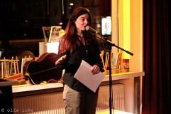 Lesebühne Vision und Wahn Berlin: Marion Alexa Müller