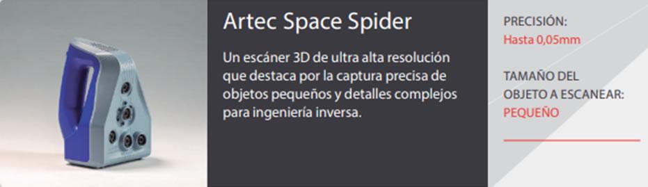 Escáner Space Spider