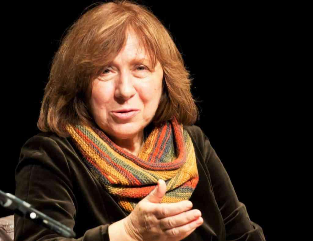 Swetlana Aleksievich, Nobel prize winner from Belarus