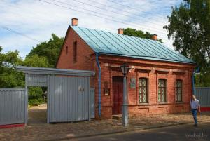 House museum of Mark Chagall, attractions of Vitebsk