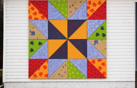 Seasons Barn Quilt