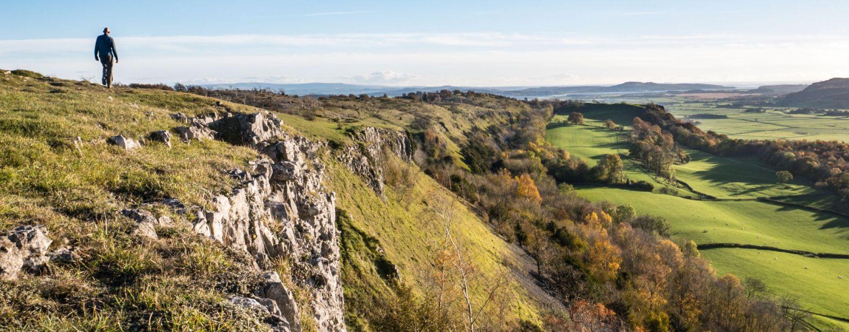 Scout Scar view, near Kendal