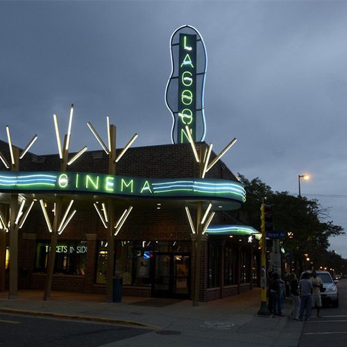 Lagoon Theater in Uptown Minneapolis