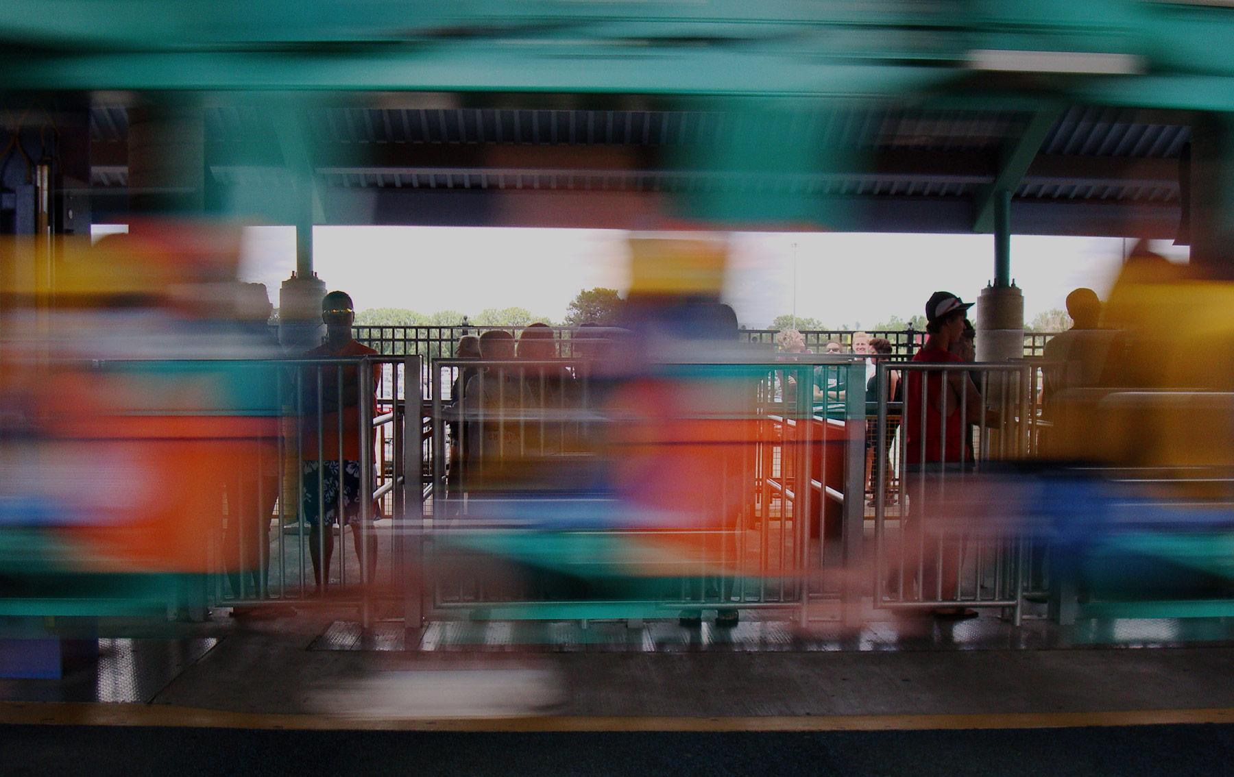 Valleyfair Steel Venom Rollercoaster