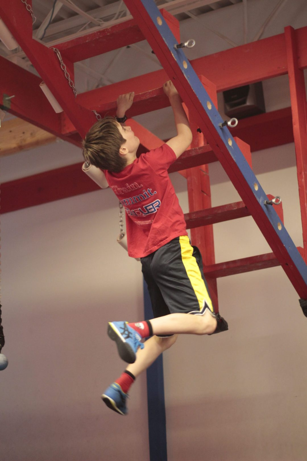 "Open Staircase Obstacle. Image by  <a href=""http://www.conquermn.com/"" target=""_blank"">Conquer Ninja Warrior</a>"