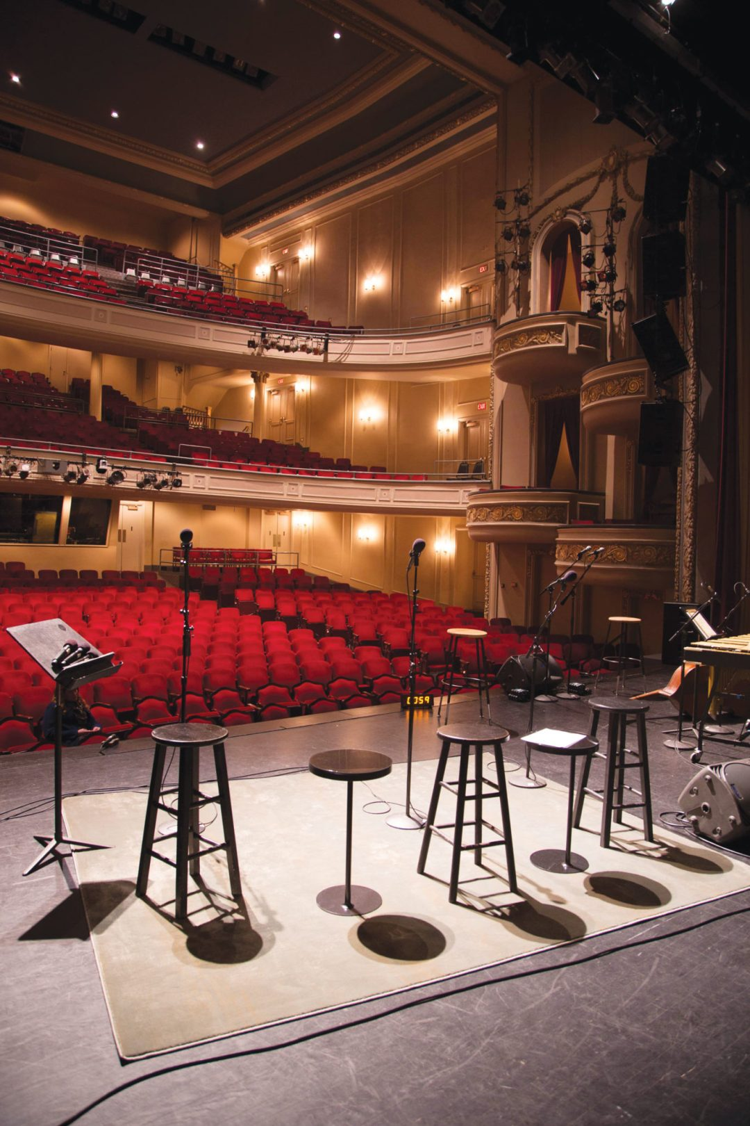 Fitzgerald Theater Stage. Image by Todd Buchanan