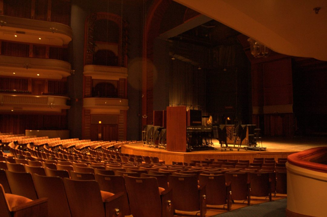 """Ordway Seating. Image by Michael Hicks <a href=""""https://www.flickr.com/photos/mulad/264326554/in/photostream/"""" target=""""_blank"""">Michael Hicks/flickr</a>"""