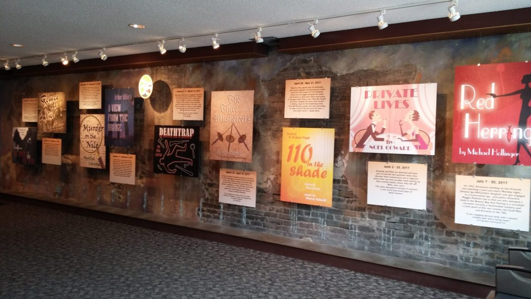 "Lobby. Image by Theatre in the Round <a href=""http://www.theatreintheround.org/"" target=""_blank"">Theatre in the Round</a>"