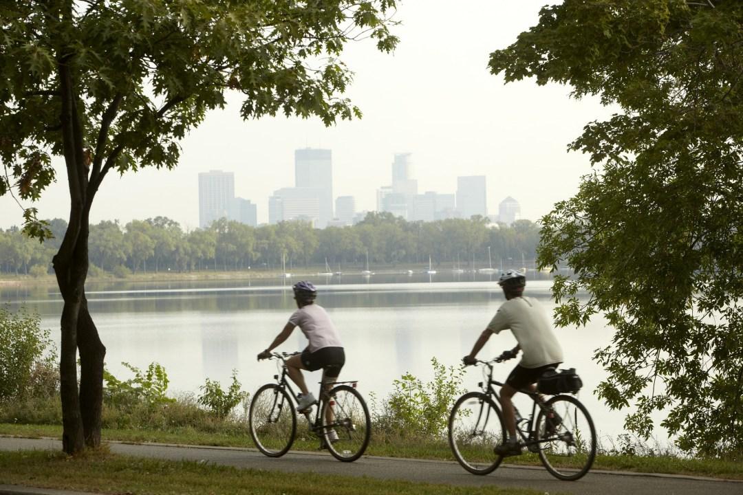 Urban Bike Trails Photo by Todd Buchanan/Greenspring Media