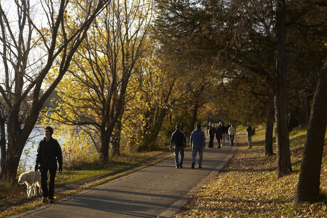 Walking Minneapolis Photo by Todd Buchanan/Greenspring Media