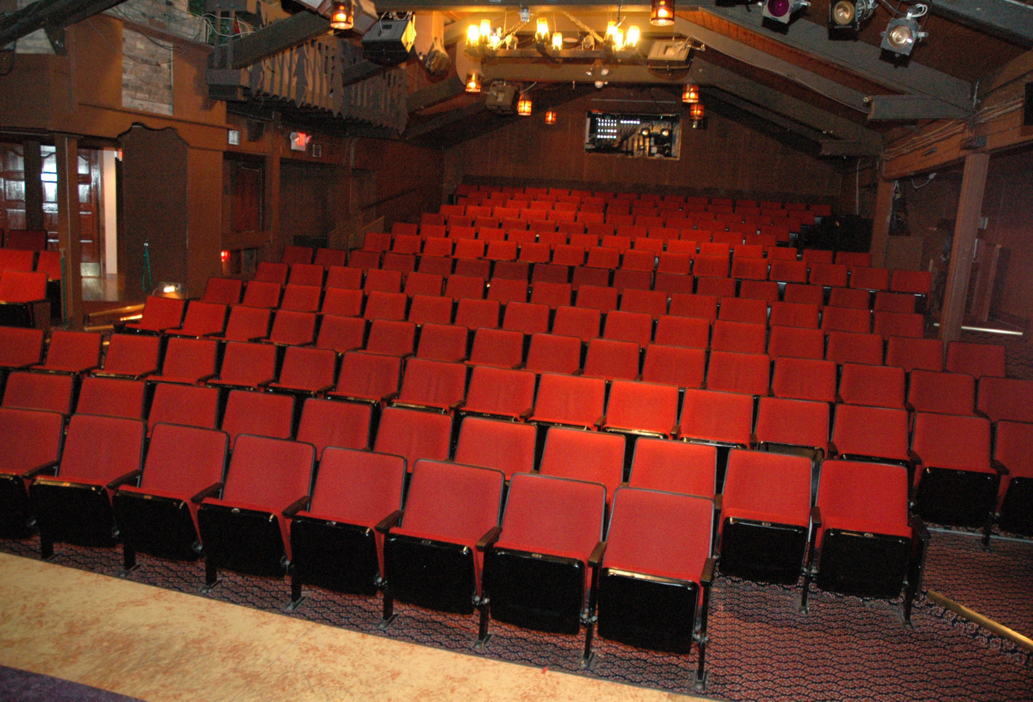 fireside theatre seating chart