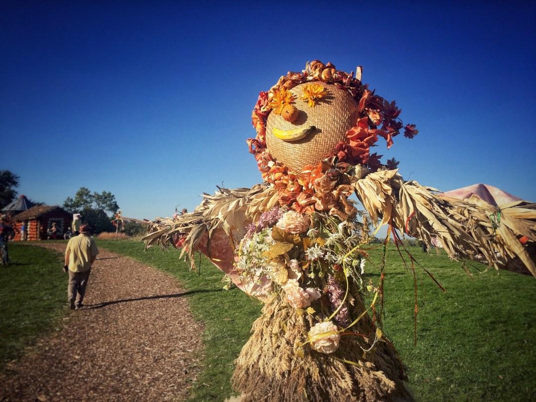 Minnesota Landscape Arboretum scarecrow