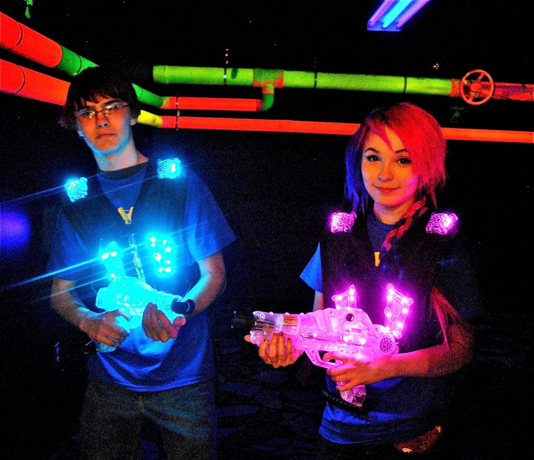 Laser Tag. Image courtesy of Big Thrill Factory