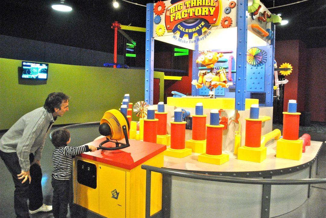Arcade. Image courtesy of Big Thrill Factory