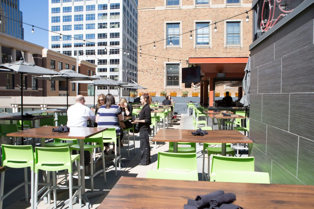 Ling and Louie's Patio Photo by Erica Loeks/Greenspring Media