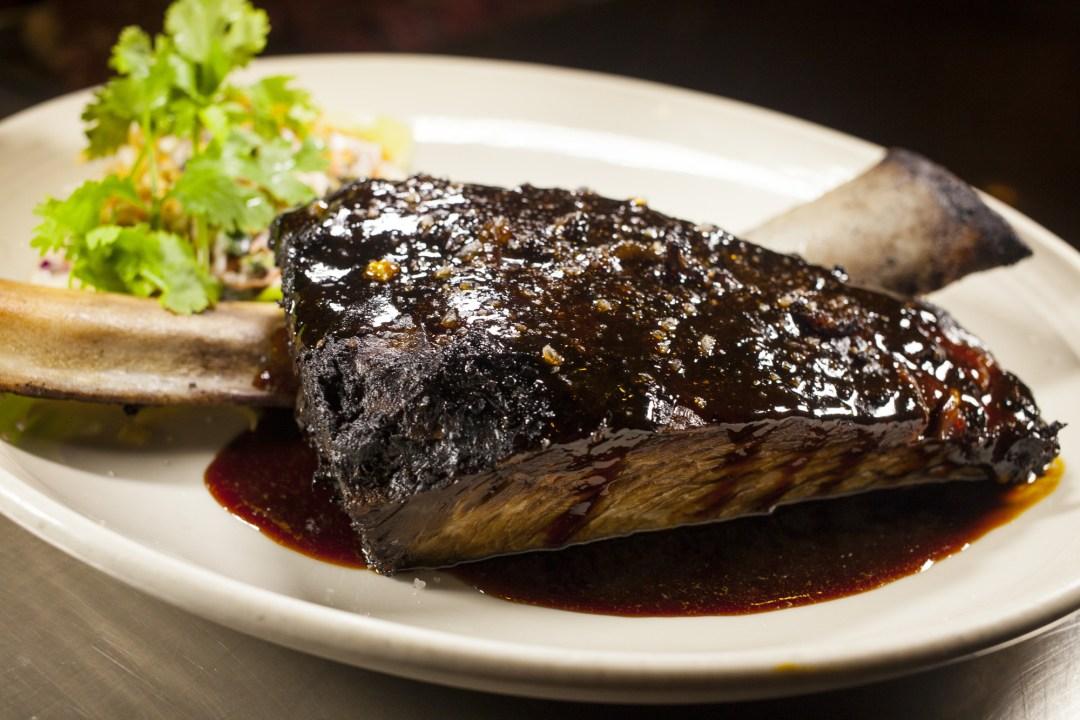 Steak at Butcher & the Boar. Image by TJ Turner/Greenspring Media