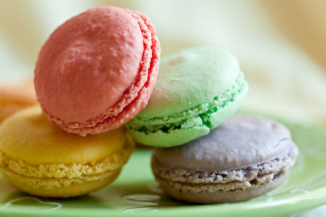 "French Macarons. Image by <a href=""https://flic.kr/p/6JYcC9"" target=""_blank""> Alicia Griffin/flickr</a>"