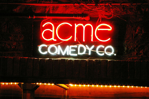 "Acme Comedy Club Outdoor Sign. Image by <a href=""http://www.minneapolis.org/"" target=""_blank"">Meet Minneapolis</a>"
